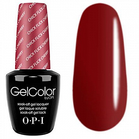 OPI GelColor H02 Chick Flick Cherry 15 мл
